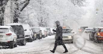 Як українці переживають масштабні снігопади: опитування