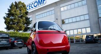 У Швейцарії представили концепт надкомпактного електромобіля: фото, відео