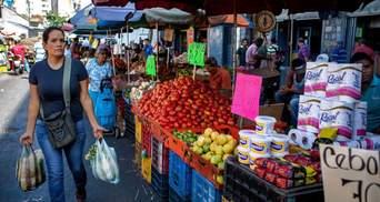 Ціни виросли на 3000% всього за рік: що відбулося у Венесуелі у 2020 році