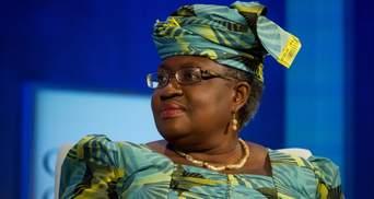 Первой в истории женщиной, возглавившей ВТО, стала нигерийка Нгози Оконджо-Ивеала