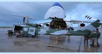 """Український """"Руслан"""" доставив американські вертольоти до Лівану: мета"""
