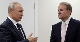 Медведчук використовує Путіна як інструмент, – Казанський