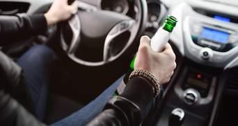 Рада посилила відповідальність і збільшила штрафи за керування авто п'яним