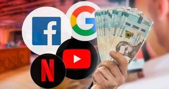 YouTube, Netflix та Facebook обкладуть податками: за що українці платитимуть більше