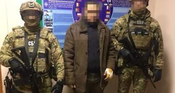 Приїхав збирати інформацію: на Одещині СБУ спіймала командира ДРГ терористів – відео