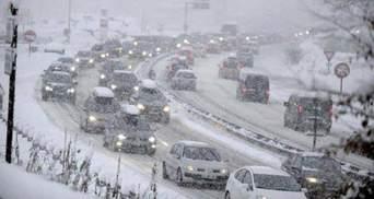 Зранку 17 лютого Київ зупинився через затори: онлайн-карта