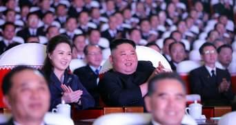 Жена Ким Чен Ына впервые за долгое время появилась на публике: фото