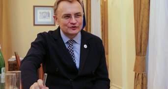Садовый рассказал о приеме больных COVID-19 из Ивано-Франковска и вакцинации во Львове