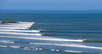 Волна Чикама: самая длинная в мире волна, которая защищена законом – невероятные фото, видео