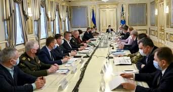 Засідання РНБО 19 лютого: санкції проти Медведчука і літаків, 5 сценаріїв Донбасу