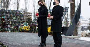 Ми не маємо права забути імена загиблих, – президент Зеленський вшанував подвиг Небесної Сотні