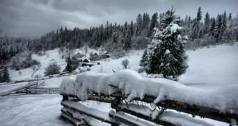В Карпатах могут сойти лавины: фантастическое фото с вершины Черногоры
