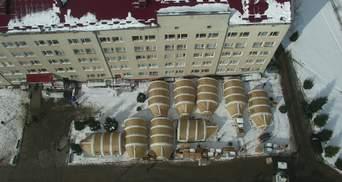 На Прикарпатті розгортають мобільний госпіталь: фото, відео