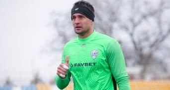 Воротар Минаю пропустив курйозний гол у матчі проти Олександрії: відео