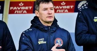 Тренер Львова заявив, що отримав картку через те, що попросив суддю розмовляти українською