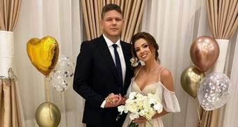 """Настя Зинченко """"из Уханя"""" сделала одинаковые тату с любимым в день свадьбы: новые фото"""