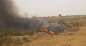 В Нигерии разбился военный самолет: есть погибшие – видео