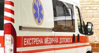 Молодому парню оторвало ногу на стройплощадке в Киеве: фото 18+