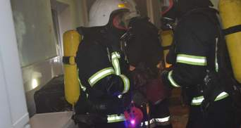 В Киеве горело студенческое общежитие