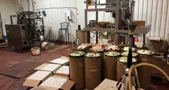 Тонны поддельной кальянной продукции: в Запорожской области разоблачили подпольный цех