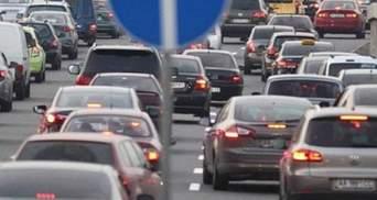 Утром 22 февраля Киев парализовали пробки: онлайн-карта