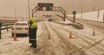Крымский мост оказался под угрозой из-за ледового коллапса