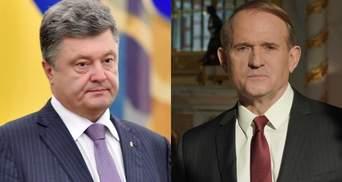 Порошенко содействовал Медведчуку в присвоении трубопровода: доказательства