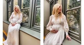 Певица Элли Голдинг впервые станет мамой: волшебные фото для Vogue