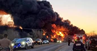 В Техасе прогремел мощный взрыв: поезд столкнулся с грузовиком – фото, видео