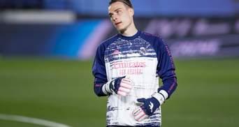 Несподіванка: Реал хоче віддати Луніна в оренду та купити голкіпера середняка Ла Ліги