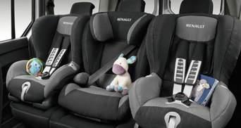 Уряд змінив правила перевезень дітей в автомобілях