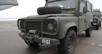 Украина получила от Латвии современные бронеавтомобили для ВСУ: фото