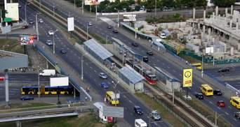 До 31 мая: киевлян предупредили об ограничении проезда из-за ремонта Индустриального путепровода