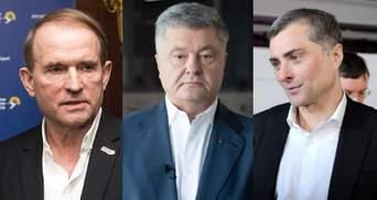 В ОПУ не сомневаются в подлинности записи Медведчука – Суркова и отмечают роль Порошенко