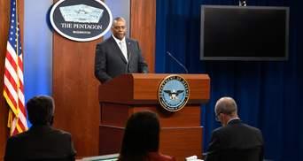 Знищили декілька об'єктів: глава Пентагону назвав подробиці авіаудару в Сирії