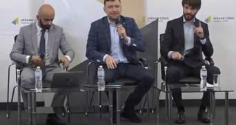 """Адвокаты Стерненко журналисту канала """"Наш"""": Вы по другую сторону баррикад – видео"""