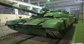 ВСУ получили пять модернизированных танков Т-72: фото
