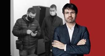 К соорганизатора акции в поддержку Стерненка пришла полиция: кто и почему давит на Маселко