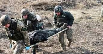 На Донбассе украинский боец подорвался на осколочной мине