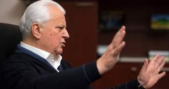 Урегулирование конфликта на Донбассе нельзя начинать с выборов, – Кравчук