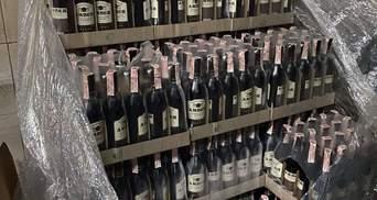 22 тисячі пляшок: у Харкові викрили підпільний алкогольний цех