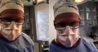 З лікарні – на суд: пластичний хірург з'явився на засіданні з операційної – фото