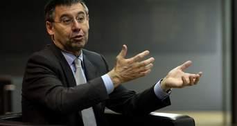 Експрезидента Барселони Бартомеу відпустили під заставу
