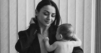 Ілона Гвоздьова показала фото з маленьким сином: миловидні кадри