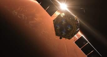 """Підбірка свіжих фотографій Марса з китайського зонда """"Тяньвень-1"""""""