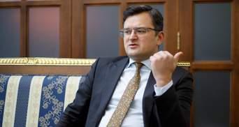 Кулеба анонсував пломбування автобусів МЗС через дипломатів-контрабандистів