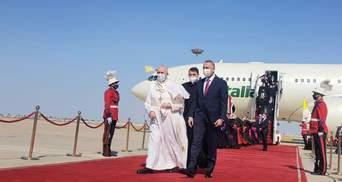 Папа Римський вперше за історію католицької церкви відвідав Ірак