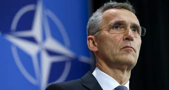 Если бы Украина была в НАТО, этого бы не произошло, – Столтенберг об оккупации Крыма Россией