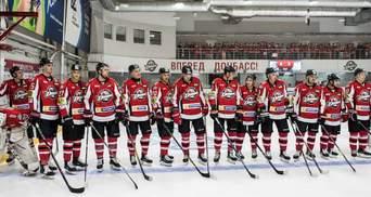 Донбасс досрочно выиграл регулярный чемпионат Украины по хоккею