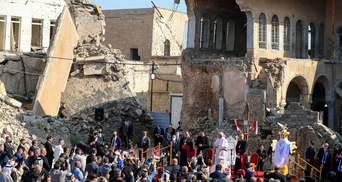 """Папа Римський виступив у """"столиці ІДІЛу"""": фото, відео"""